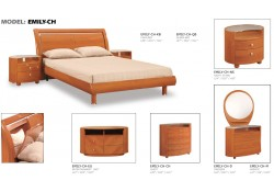 Emily Cherry Finish Bedroom Furniture
