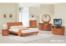 Emily Cherry Contemporary Bedroom Set by Global Furniture
