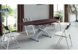 2110 Adjustable Height Table and Folding Chairs