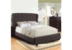 Fontes Bedroom Set with Gray Tall Headboard Bed