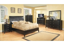 Cappuccino Finish Bedroom Set G1100A Glory Furniture