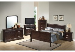Cappuccino Finish Bedroom Set G3125A Glory Furniture