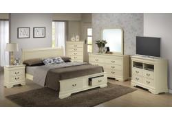 Beige Finish Bedroom Set G3175D Glory Furniture