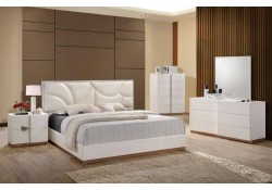 Paris Modern White Bedroom Set By Global Furniture