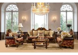Homey Design HD-481 Living Room Set Traditional Fabric