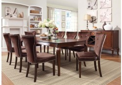 Kingston Transitional Dining Room Set in Cherry