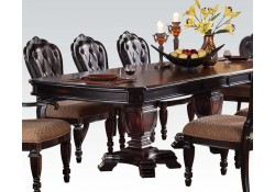 Le Havre Traditional Dining Room Set in Brown Finish