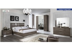 Platinum Lengo Bedroom Set Made in Italy by Camelgroup