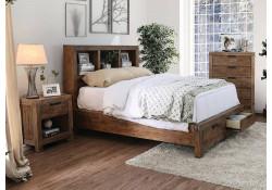 Mcallen Bedroom Set in Weathered Light Oak