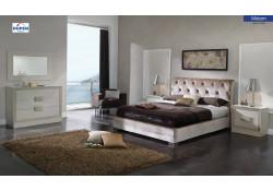 Miriam Bedroom Set Microfiber Storage Bed