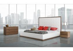 Beth Modern Walnut Bedroom Set