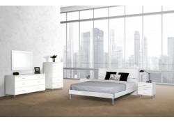 Modrest Bravo Contemporary White Italian Bedroom Set