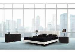 Modrest Heather Modern White Italian Bedroom Set