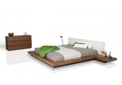 Opal Walnut Bedroom Set