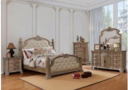 Montgomery Traditional Bedroom Set in Rustic Natural