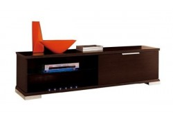 Italian Wood Contemporary TV Stand - Features Lights