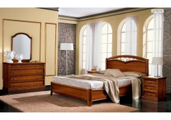 Nostalgia Composition 6 Walnut Solid Wood Italian Bedroom Set