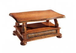 Oakman Solid Wood Classic Coffee Table by ESF