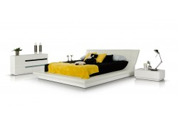 Polar Modern White Italian Bedroom Set