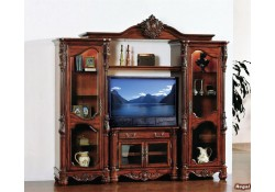 Regal Large Classic Cherry Solid Wood Home Theater Furniture