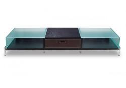TVR6231 Espresso Contemporary TV Stand