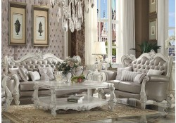 Versailles Living Room Set in Vintage Gray
