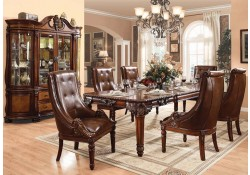 traditional dining room set. Winfred Traditional Dining Room Set in Cherry Formal Sets Modern and Classic Designs