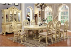 Wyndmere Antique White Dining Room Set