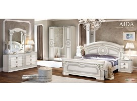 Aida Bedroom Set with Double Dresser