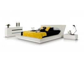 Modrest Polar Modern White Italian Bedroom Set