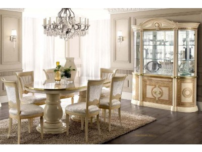 Aida ESF Classic Dining Room Set Made in Italy