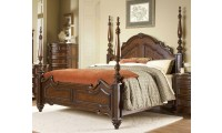 1390 Prenzo Poster Bedroom Set in Brown by Homelegance