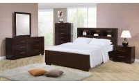 Coaster 200719 Jessica Bedroom Set in Cappuccino Finish