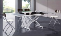 2109 Adjustable Height Table and Folding Chairs