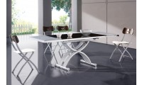 Adjustable Height Table Dining Room Set 2109