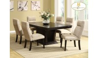 Homelegance 5448-78 Avery Dining Room Set in Espresso Finish