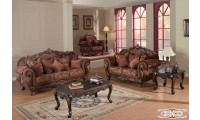 Cherry Trim French Style Living Room Set 681