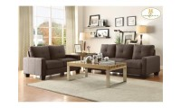 8518 Ramsey Living Room Set in Grey Fabric