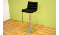 ALC-2230 Sandie Modern Black Leather Bar Stool