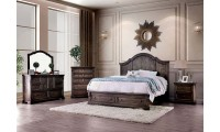 Amadora Bedroom Set in Walnut