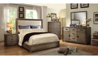 Antler Bedroom Set in Natural Ash And Ivory