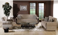 Argos Living Room Set in Zilkade Brown Fabric