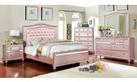 Ariston Bedroom Set in Rose Gold