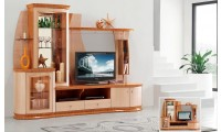 AV3069 Entertainment Center in Beige Finish