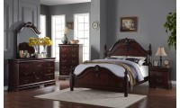 B513 Traditional Bedroom Set in Cappuccino Finish