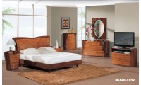New York Modern Kokuten Bedroom Set by Global Furniture