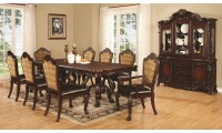Coaster 1055 Benbrook Formal Dining Room Set in Cherry