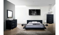Christie Modern Bedroom Set in Black