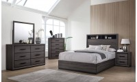 Conwy Bedroom Set in Gray