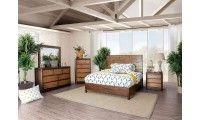 Covilha Bedroom Set in Antique Brown